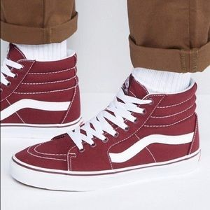 VANS SK8-HI Suede  Unisex Tennis Shoes
